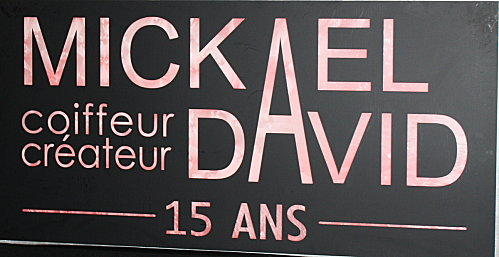 Mickaël David fête ses 15 ans au café Opéra !