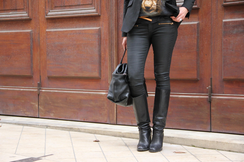 pantalon huilé femme zara