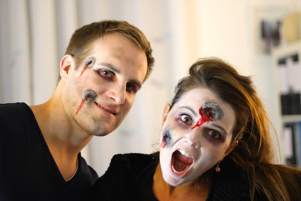 Maquillage halloween en 10 tapes blog enfin moi mode lifestyle bordeaux - Maquillage chapelier fou ...