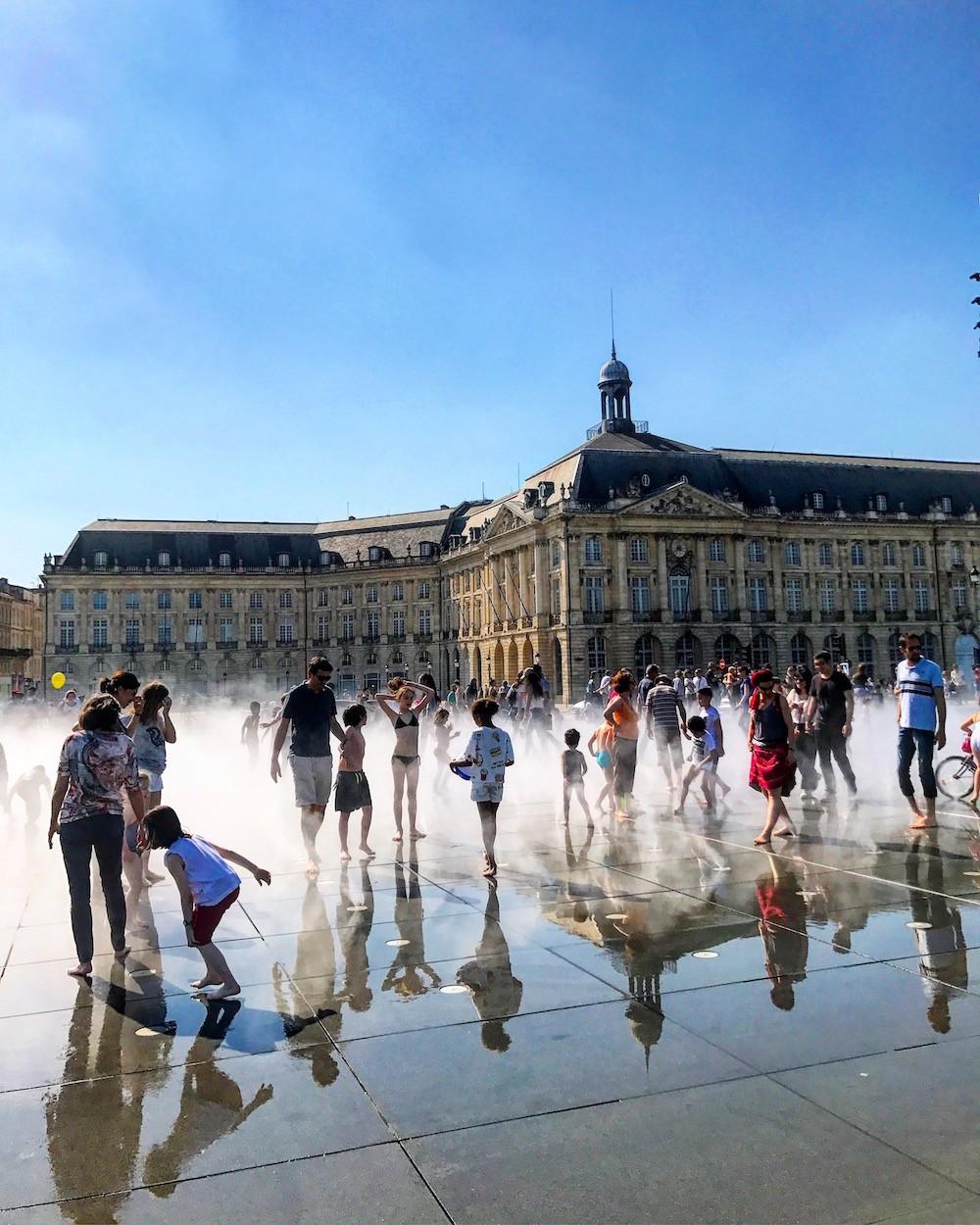 Ma semaine de blonde blog enfin moi mode lifestyle for Miroir d eau bordeaux