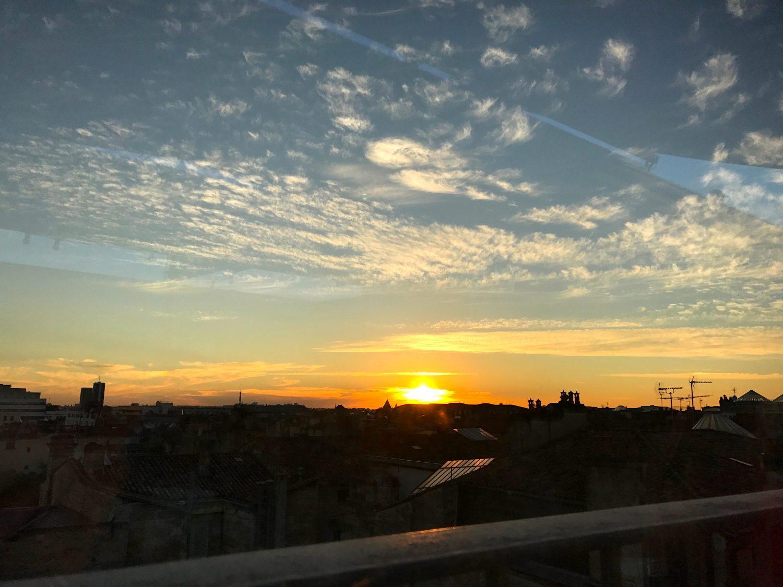Simple comme un coucher de soleil !