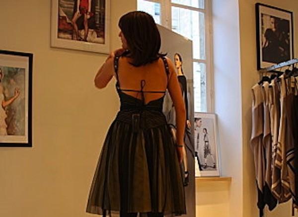 Retour vers les 60's avec ma jolie robe de fête !