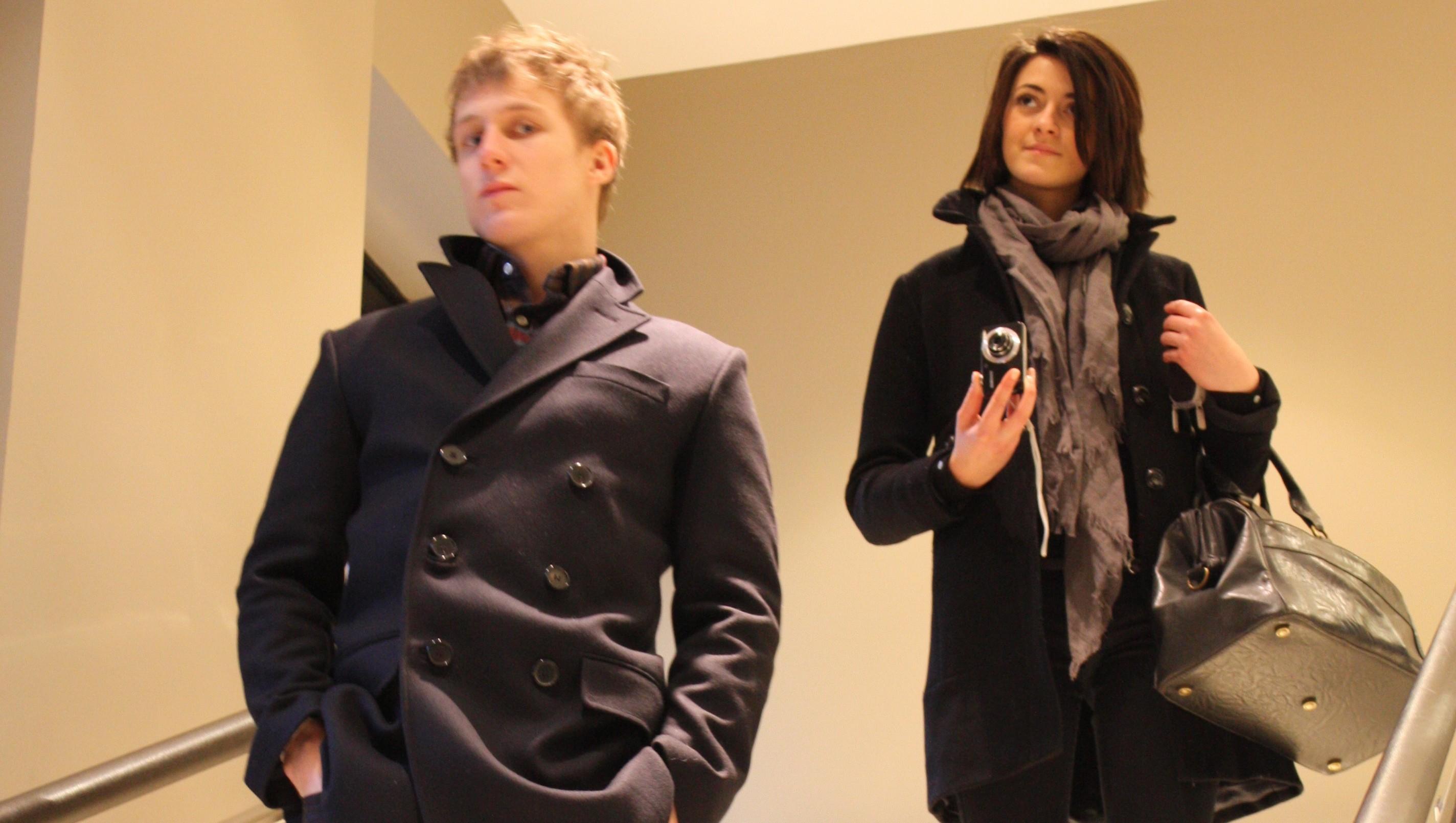 Shopping soldes pour Arthur & Aurélia !