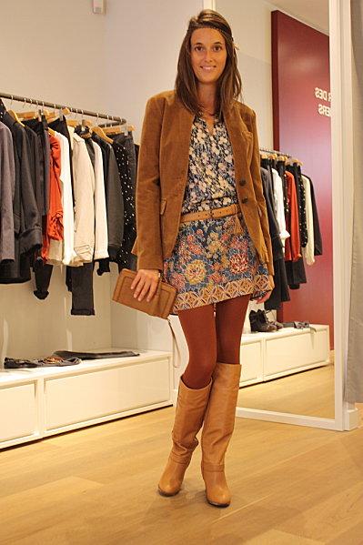 Moutarde d 39 automne blog enfin moi mode lifestyle bordeaux - Robe en soie comptoir des cotonniers ...