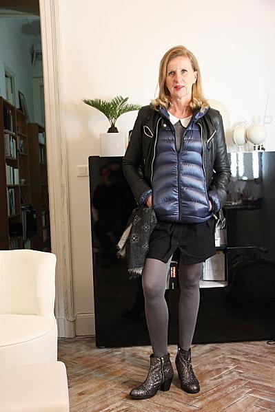 San Francisco 3bec0 fd9ec Doudoune ultra light sous mon cuir ! | Blog Enfin Moi • Mode ...