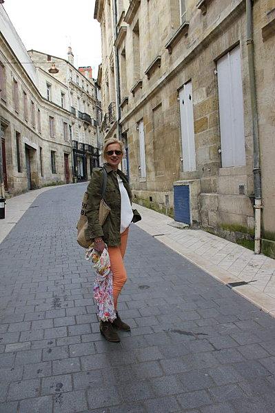 jeans-orange 6759
