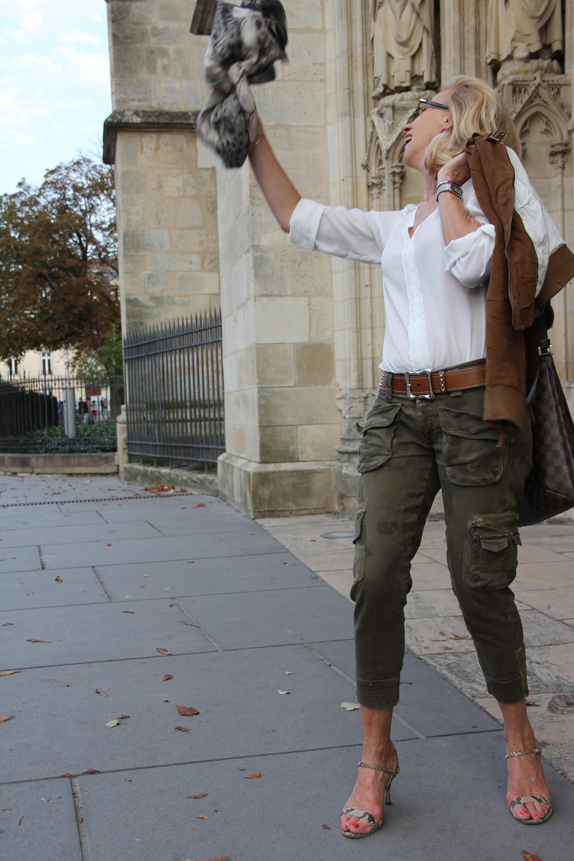 Camouflage et soie !   Blog Enfin Moi • Mode   lifestyle • Bordeaux 4e89d12f0917