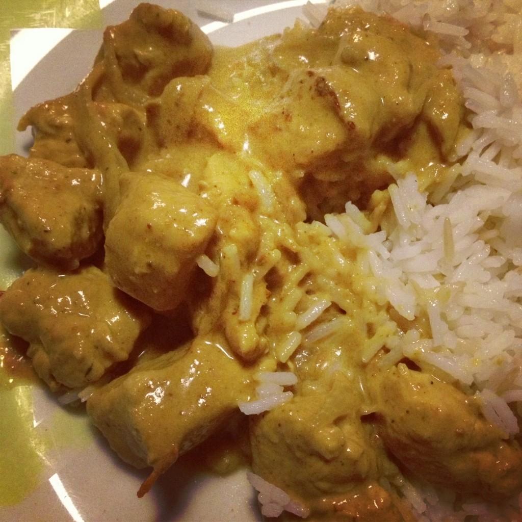 Curry de poulet Enfin moi