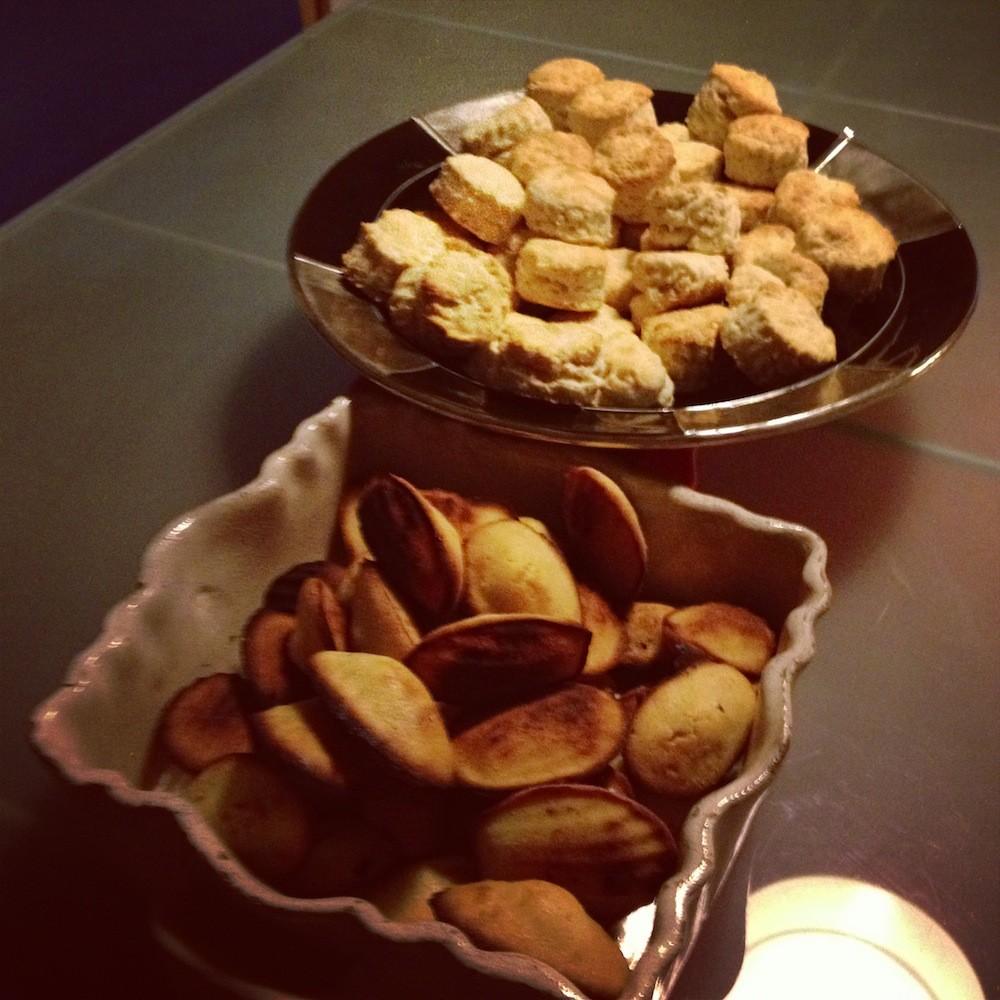 scones & madeleines Enfin moi