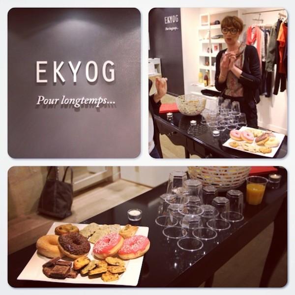 Petit déjeuner blogueuses bordelaises EKYOG