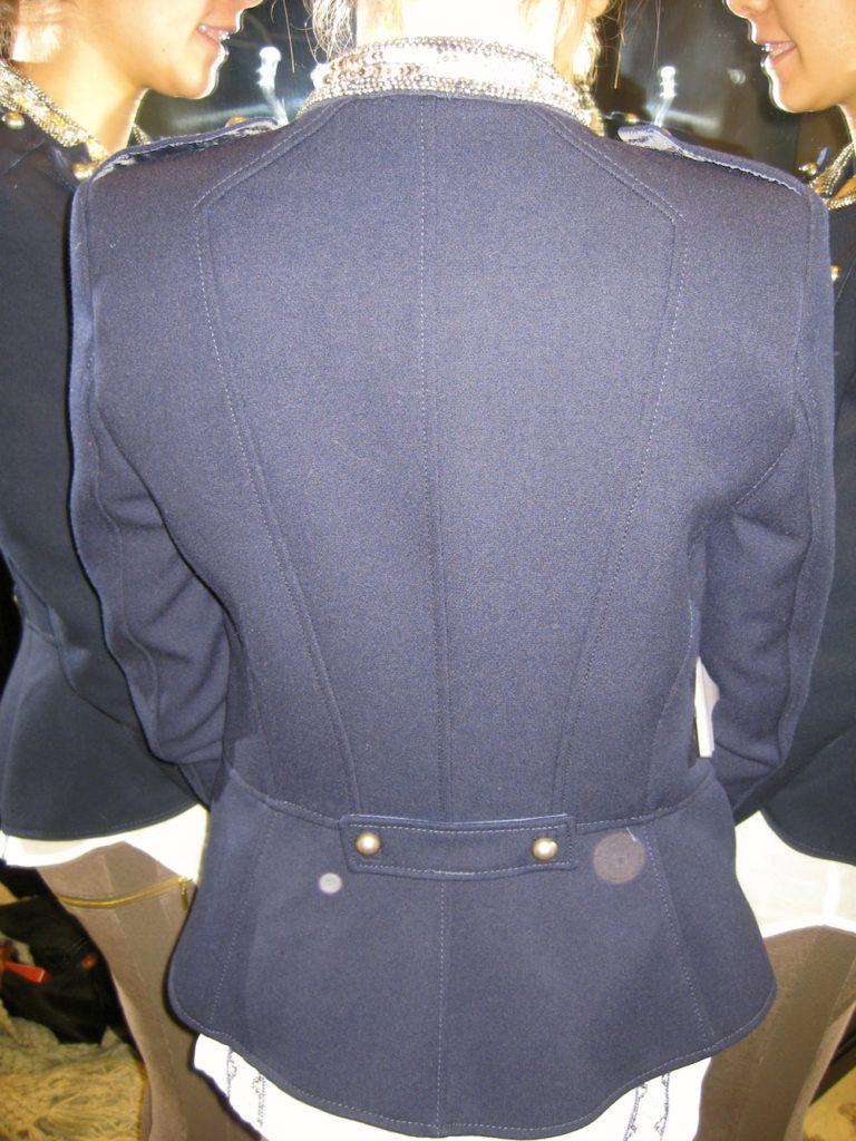 Veste Col Officier Zara 2013