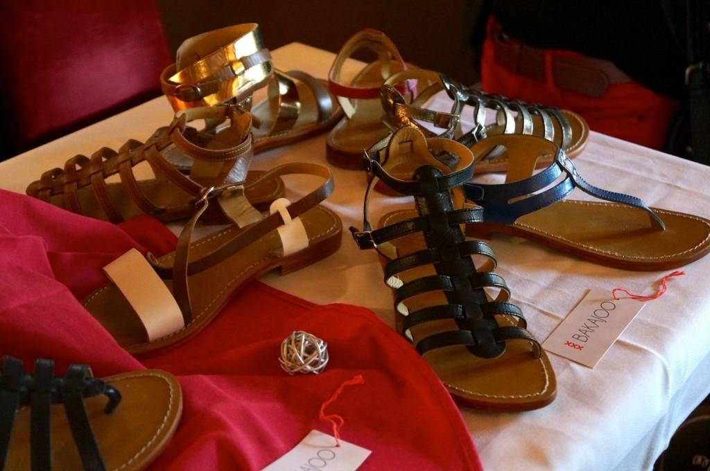 BAKAJOO Sandales cuir