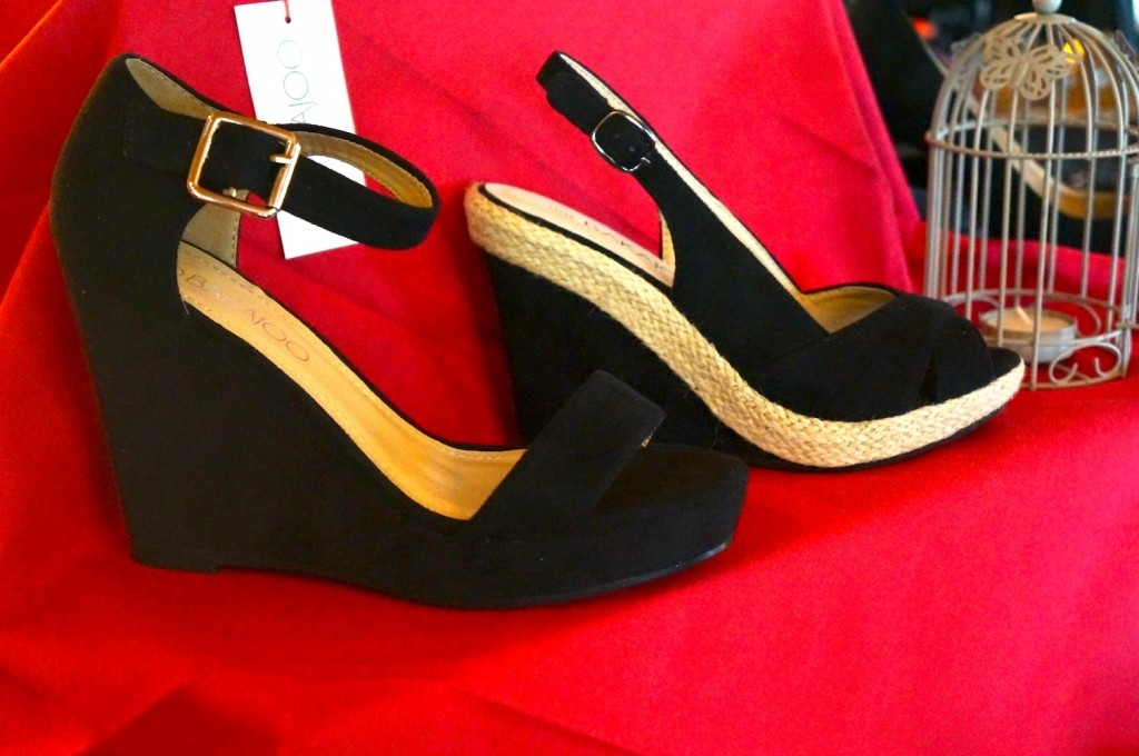 BAKAJOO sandales compensées