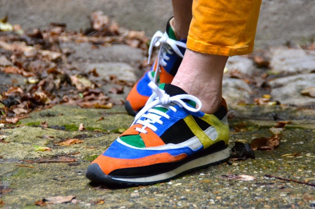 Baskets Zara multicolore