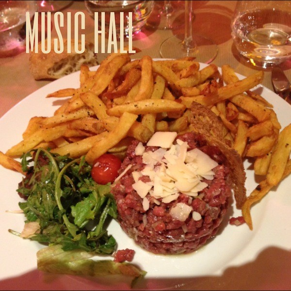 Restaurant le Music Hall Bordeaux