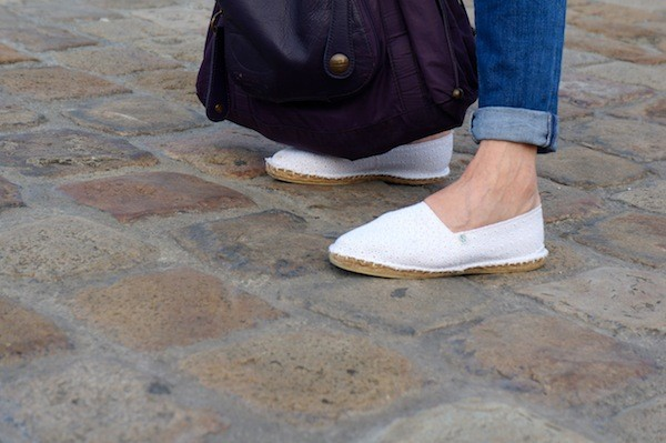 Espadrilles broderie anglaise Arsène