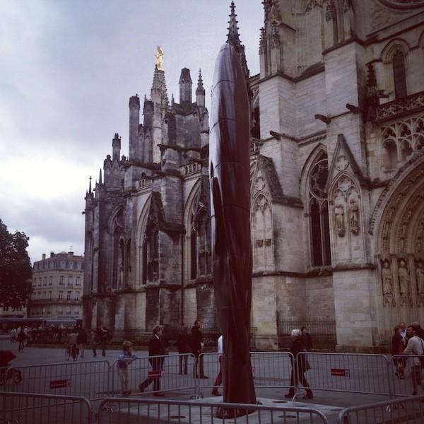Bordeaux sculpture Jaume Plensa