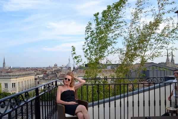 Toit terrasse du Grand Hôtel le Régent