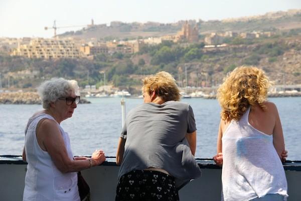 Gozo, Gozo, face à Malte !