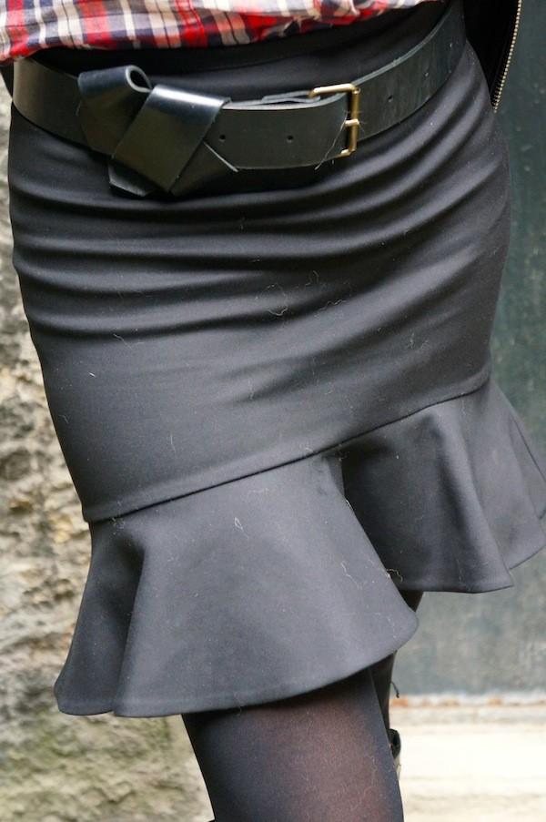 Jupe asymétrique  Zara