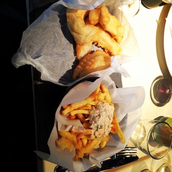 Fish & Chips MAMA Shelter
