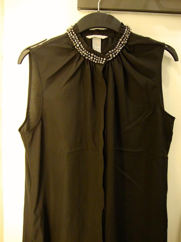 Top habillé perles H&M