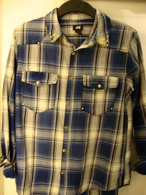 Chemise à carreaux H&M