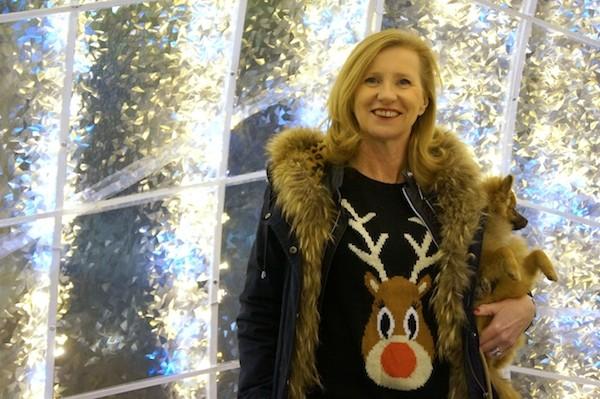 Pull cerf de Noël 2013 Mark Darcy