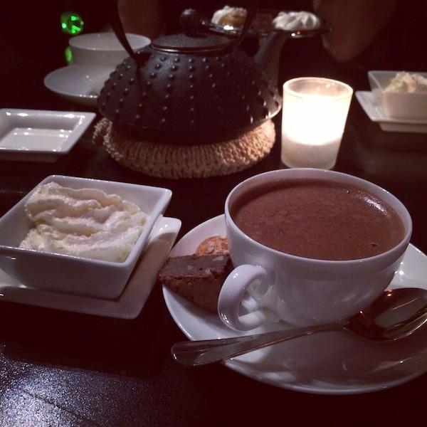 Chocolat chaud Régent Grand Hôtel