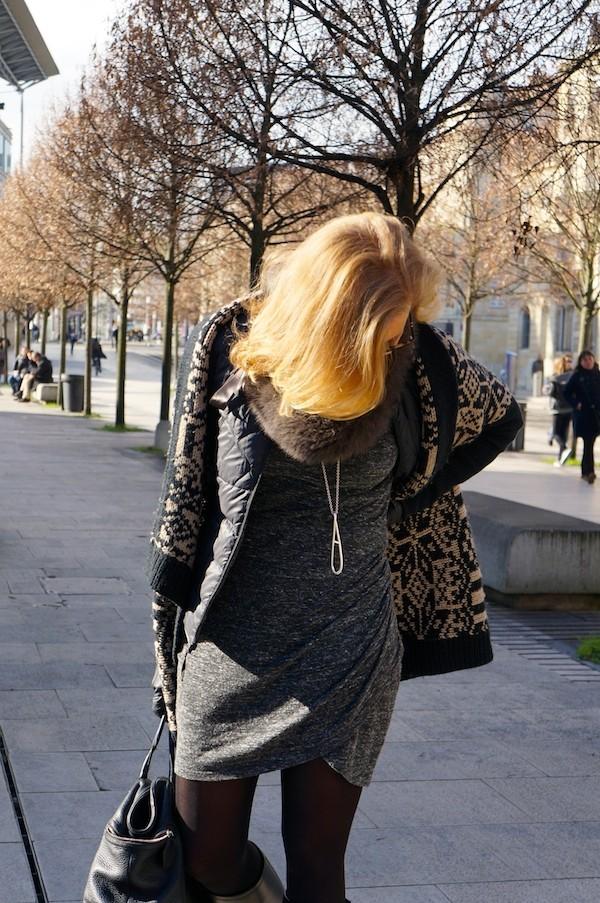 Robe drapée Zara 2014