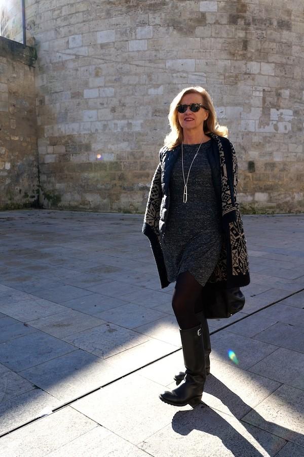 Robe drapée Zara