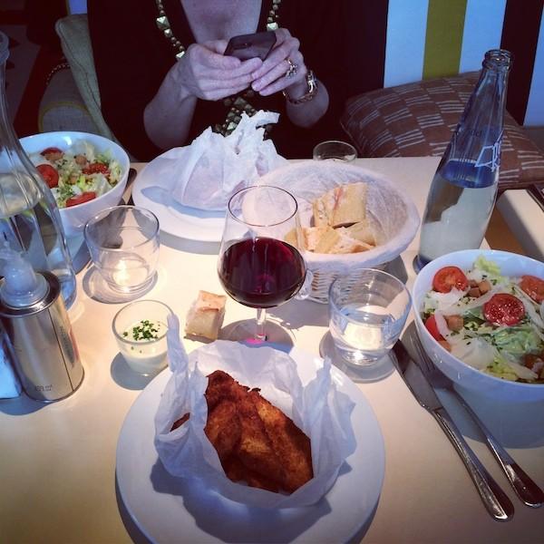 Salade Cesar au Mama Shelter