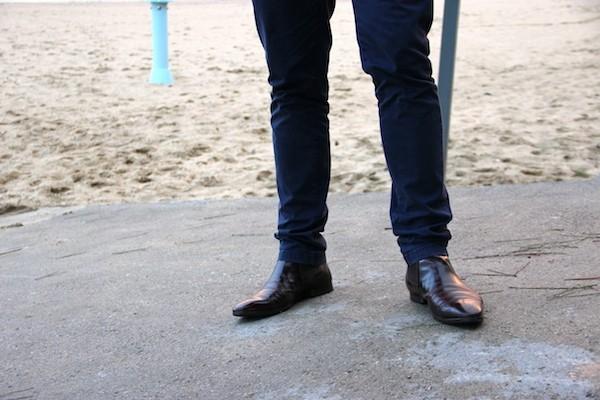 boots marron Minelli