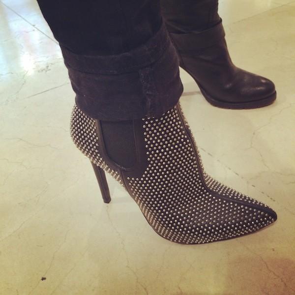 Boots cloutés Zara