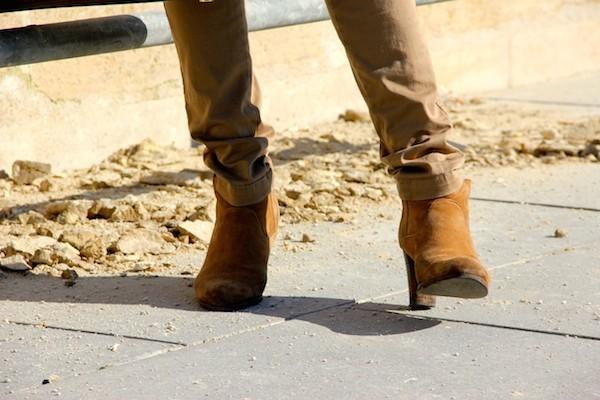 Boots Comptoir des Cotonniers
