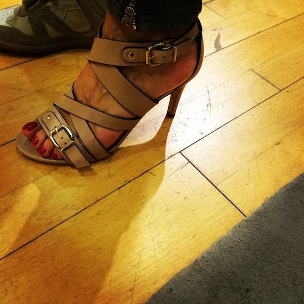 Sandales nude Minelli 2014