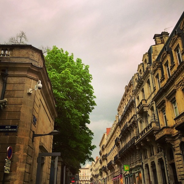 Bordeaux lundi