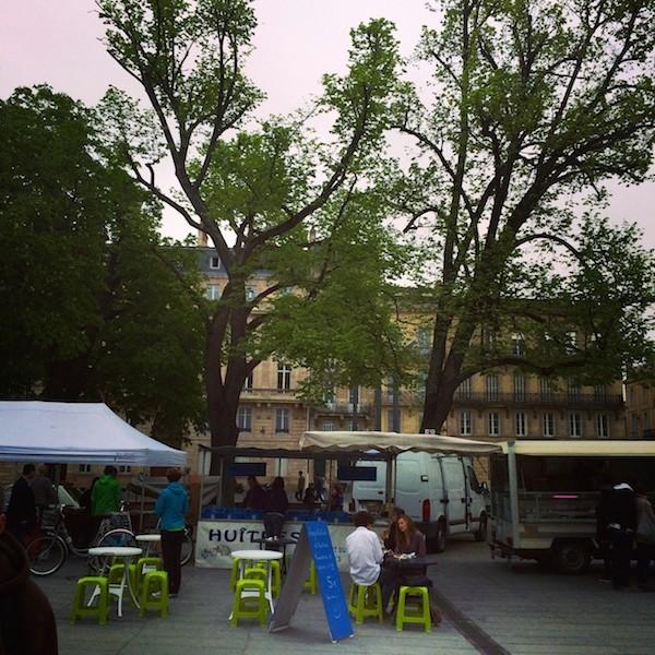 Marché Place Pey-Berland