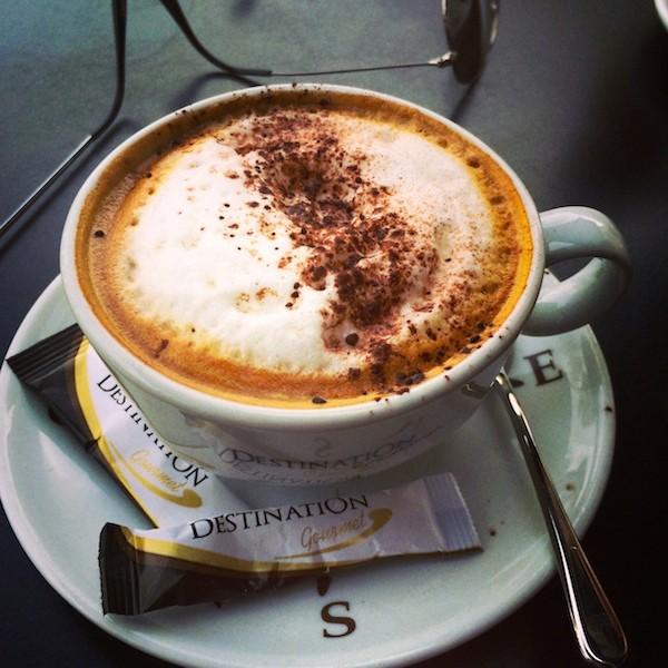 Cappuccino Comptoir Cuisine