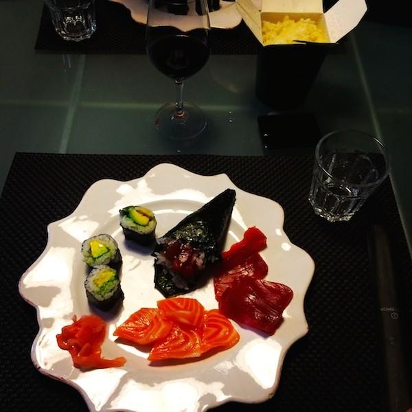 21 Sushis, makis & Sashimis