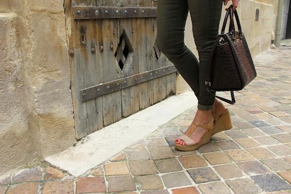 Sandales nude Kan 2013