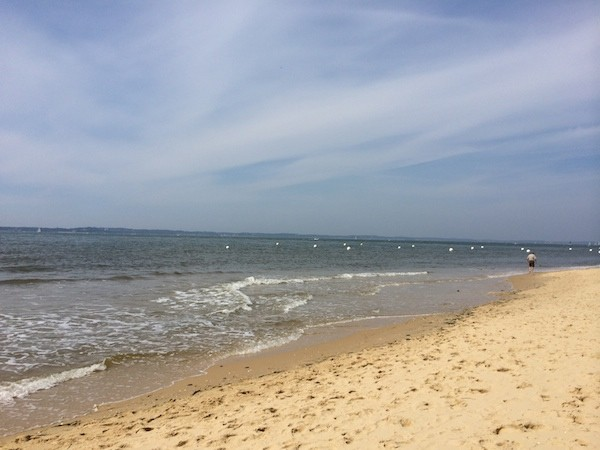 Le Moulleau, la plage