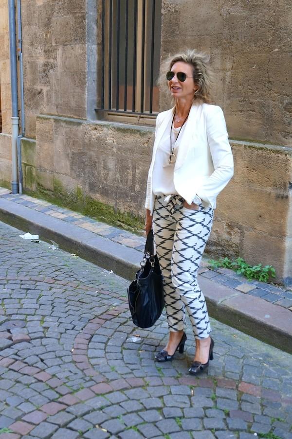 Slim noir et blanc Isabel Marant 2014