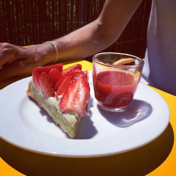 Tarte aux fraises MAMA SHELTER Bordeaux