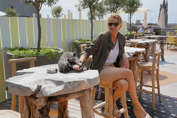 Jupe dentelle Tara Jarmon 2012
