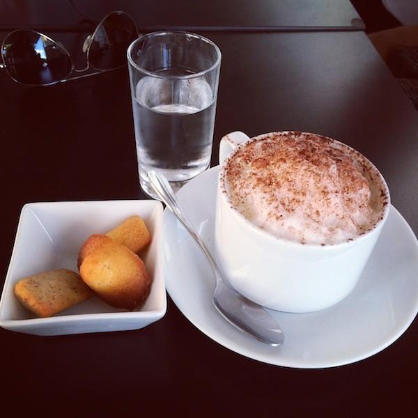 1 cappuccino