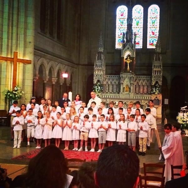 1er communion Saint Gabriel Bordeaux