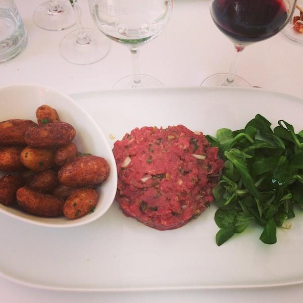 Tartare Comptoir Cuisine Bordeaux