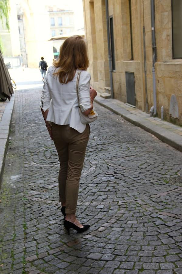 Veste cloutéé Zara 2012