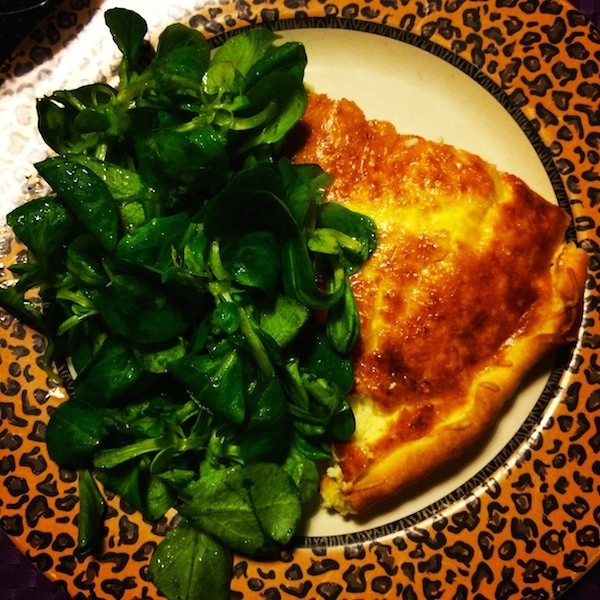 Quiche :Salade maison